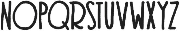 Texas Toast otf (400) Font LOWERCASE