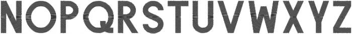 Texas otf (400) Font LOWERCASE