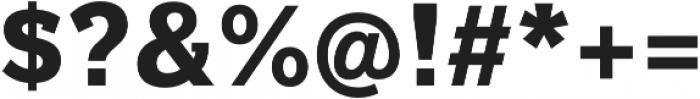 Texicali Alt Extra Bold otf (700) Font OTHER CHARS