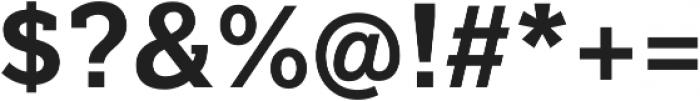 Texicali Bold otf (700) Font OTHER CHARS