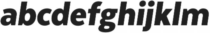 Texta Narrow Alt Black Italic otf (900) Font LOWERCASE