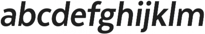 Texta Narrow Alt Bold Italic otf (700) Font LOWERCASE