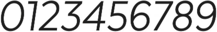 Texta Narrow Alt Book Italic otf (400) Font OTHER CHARS