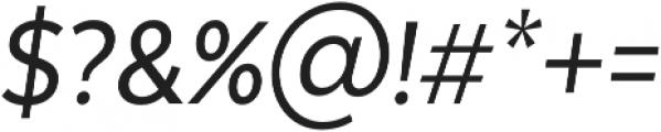 Texta Narrow Alt otf (400) Font OTHER CHARS