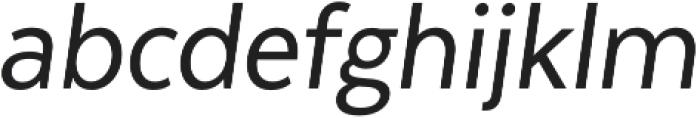 Texta Narrow Alt otf (400) Font LOWERCASE