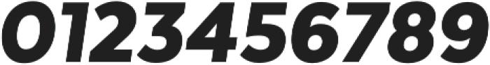 Texta Narrow Black Italic otf (900) Font OTHER CHARS