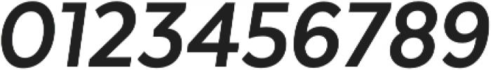 Texta Narrow Bold Italic otf (700) Font OTHER CHARS