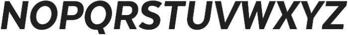 Texta Narrow Heavy Italic otf (800) Font UPPERCASE