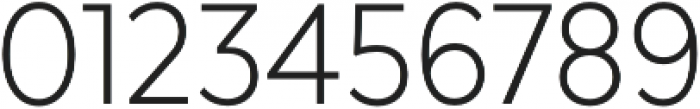 Texta Narrow Light otf (300) Font OTHER CHARS