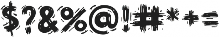 Tez otf (400) Font OTHER CHARS