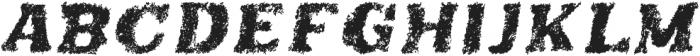 teatime italic otf (400) Font UPPERCASE