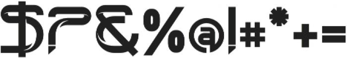 technoline modern otf (400) Font OTHER CHARS
