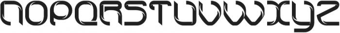 technoline modern otf (400) Font UPPERCASE