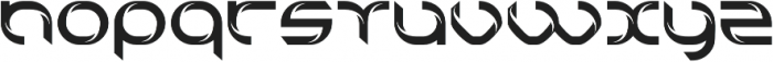 technoline modern otf (400) Font LOWERCASE