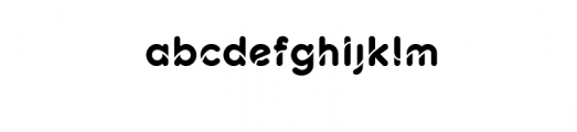 Techno Elegant Font LOWERCASE