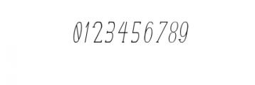 TerryBruce-Italic.otf Font OTHER CHARS