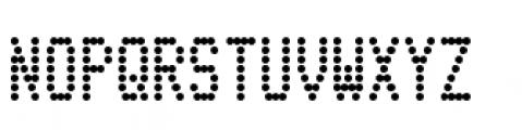 Telidon Condensed Bold Font UPPERCASE
