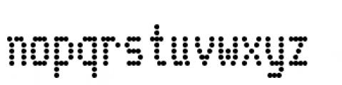 Telidon Condensed Bold Font LOWERCASE