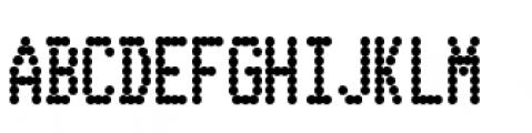 Telidon Condensed Heavy Font UPPERCASE