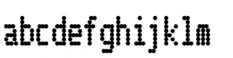 Telidon Condensed Heavy Font LOWERCASE