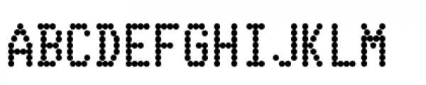 Telidon Heavy Font UPPERCASE