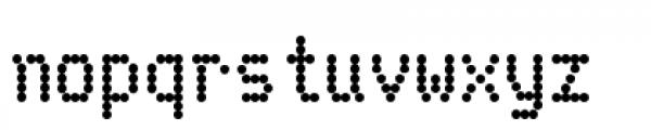 Telidon Heavy Font LOWERCASE