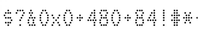 Telidon Regular Font OTHER CHARS