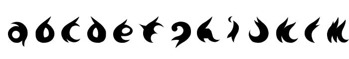 TE-7002 Font LOWERCASE