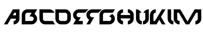 TECHNO Font UPPERCASE