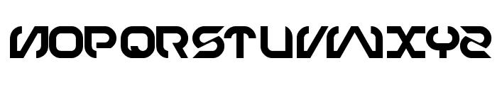 TECHNO Font LOWERCASE
