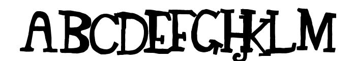 TEGEY Font UPPERCASE