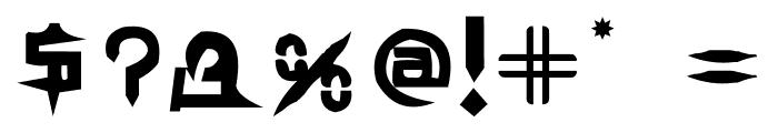 TEK HED AGGRESIVE Font OTHER CHARS
