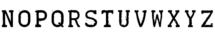 TELETYPE 1945-1985 Font LOWERCASE