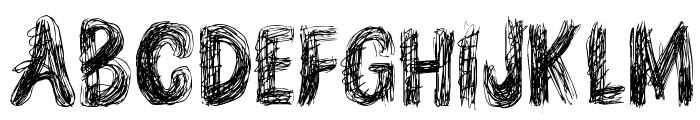 TEN O CLOCK Regular Font UPPERCASE