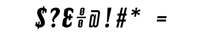 TElerysmMono2-Italic Font OTHER CHARS