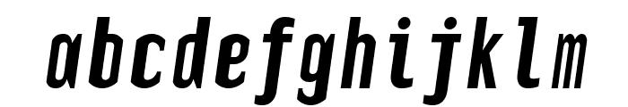 TElerysmMono2-Italic Font LOWERCASE