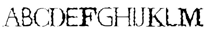 TeRRoR_ByTe_True Font UPPERCASE