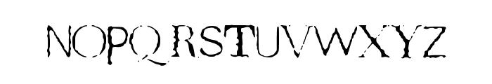 TeRRoR_ByTe_True Font LOWERCASE