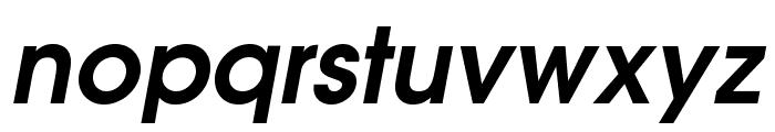 TeXGyreAdventor-BoldItalic Font LOWERCASE