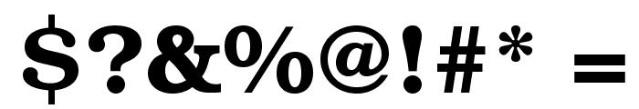 TeXGyreBonum-Bold Font OTHER CHARS