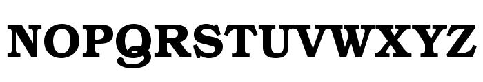 TeXGyreBonum-Bold Font UPPERCASE