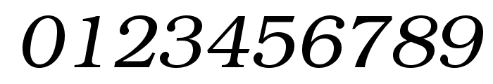 TeXGyreBonum-Italic Font OTHER CHARS