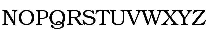 TeXGyreBonum-Regular Font UPPERCASE