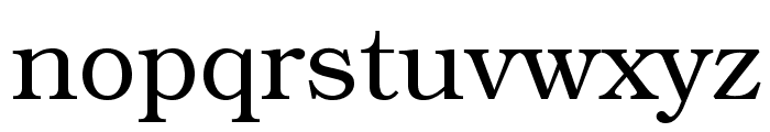 TeXGyreBonum-Regular Font LOWERCASE