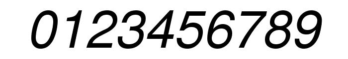 TeXGyreHeros-Italic Font OTHER CHARS