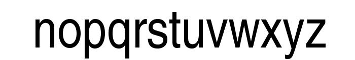 TeXGyreHerosCondensed-Regular Font LOWERCASE