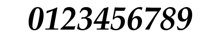TeXGyrePagella-BoldItalic Font OTHER CHARS