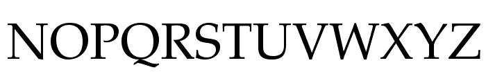TeXGyrePagella-Regular Font UPPERCASE