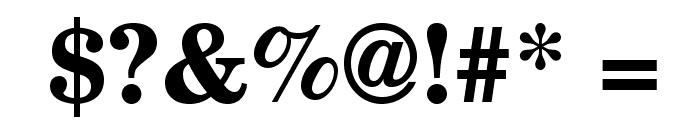 TeXGyreSchola-Bold Font OTHER CHARS