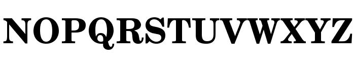 TeXGyreSchola-Bold Font UPPERCASE